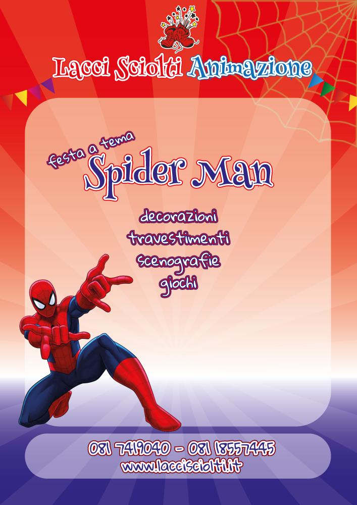 feste a tema spiderman napoli