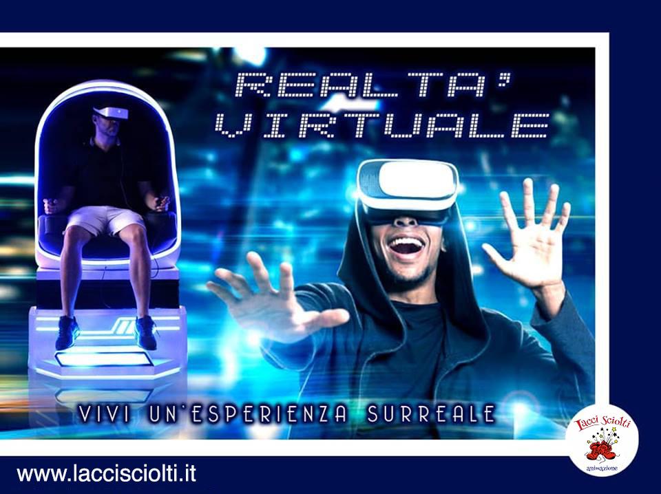 Realtà Virtuale Napoli - giochi