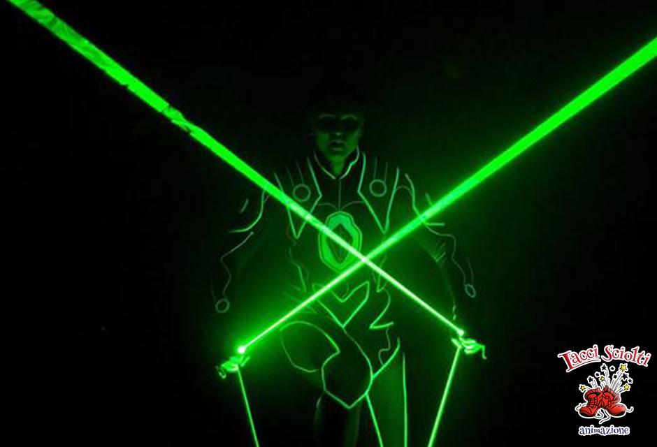 Spettacolo led e laser