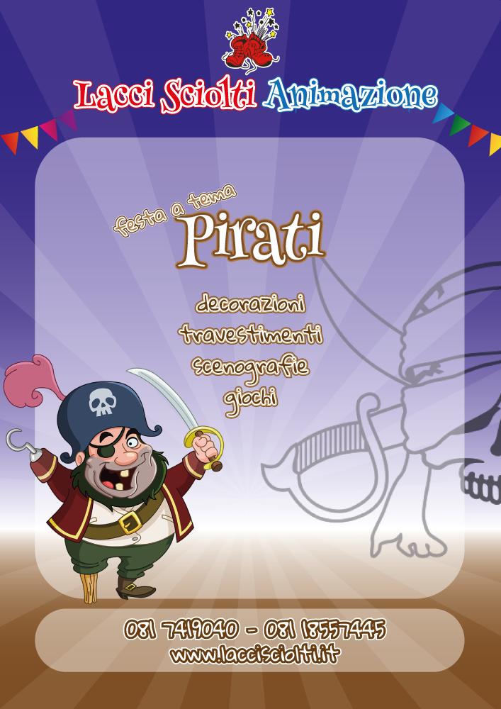 festa a tema pirati