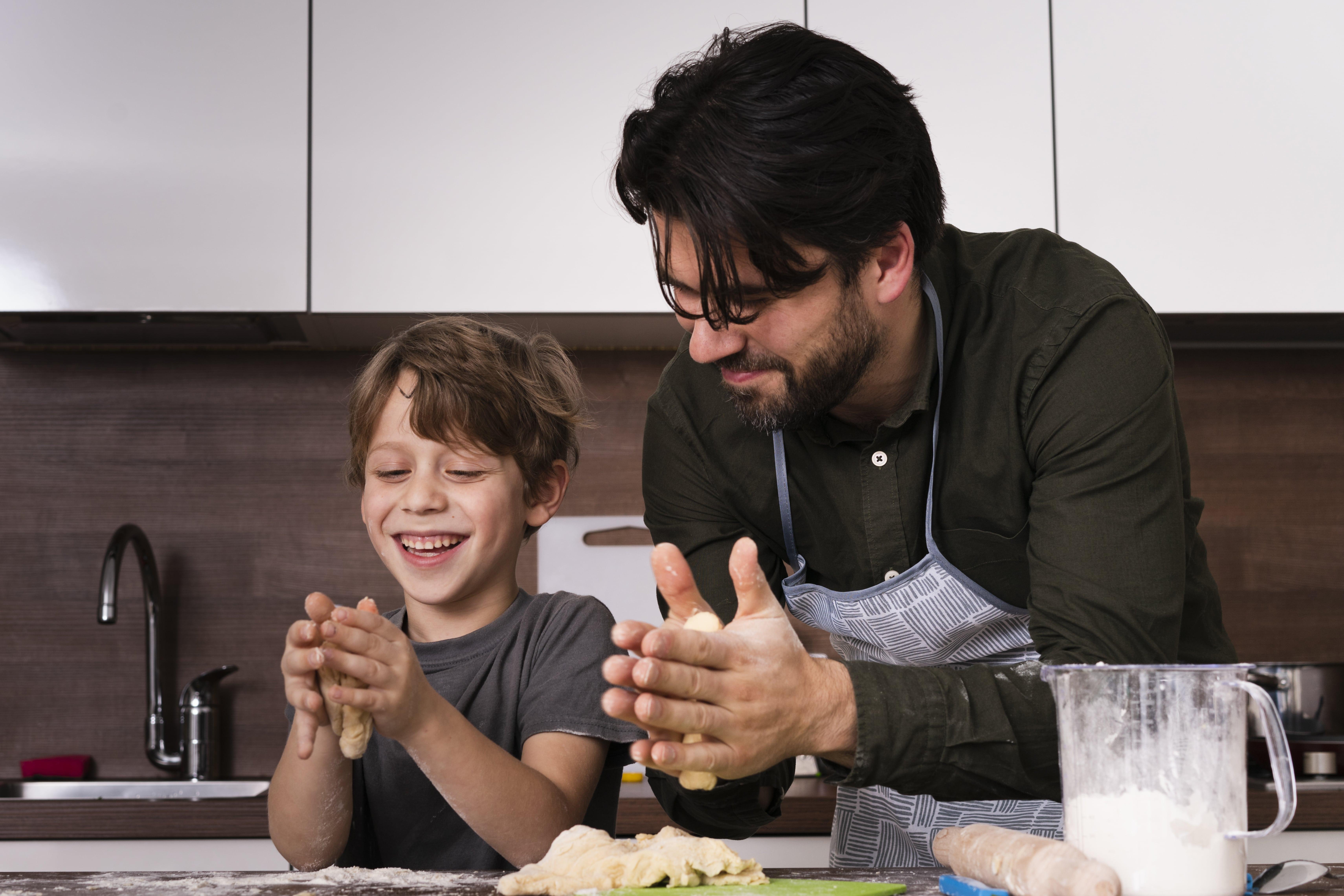 Cucinare con i figli