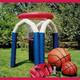 Basket gigante gonfiabile Lacci Sciolti Animazione