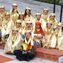 Travestimento Aladino oro