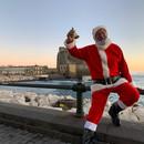 Babbo Natale Lungo Mare Napoli